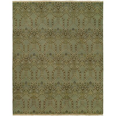 Mccaffrey Wool Olive Area Rug Rug Size: Rectangle 4 x 6