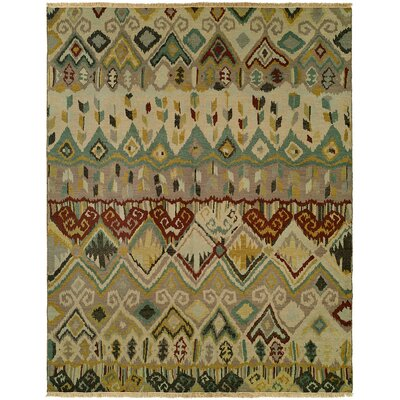 Giuliano Wool Beige Area Rug Rug Size: Rectangle 9 x 12