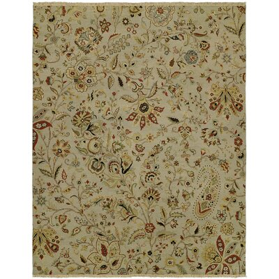 Donelson Wool Ivory Area Rug Rug Size: Rectangle 4 x 8