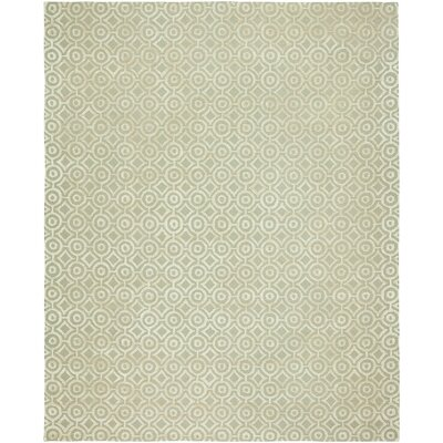 Avillion Hand-Tufted Wool Ivory Area Rug Rug Size: Rectangle 6 x 9