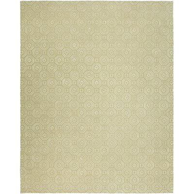 Rivka Hand-Tufted Wool Beige Area Rug Rug Size: Rectangle 9 x 12