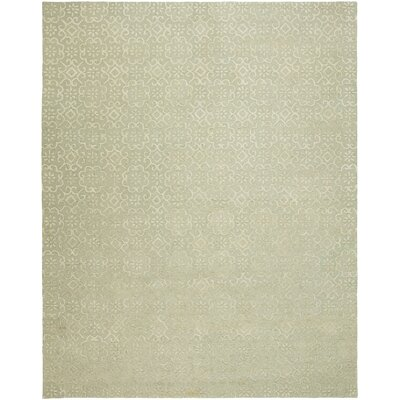 Ally Hand-Tufted Wool Ivory Area Rug Rug Size: Rectangle 6 x 9