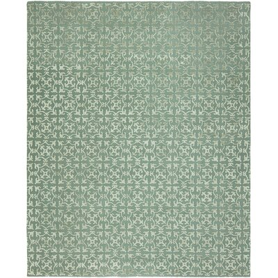 Kailani Hand-Tufted Wool Blue Area Rug Rug Size: Rectangle 36 x 5 6