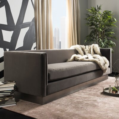 Guyer Velvet Sofa