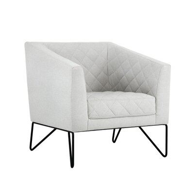 5west Princeton Occasional Armchair Upholstery: Light� Gray