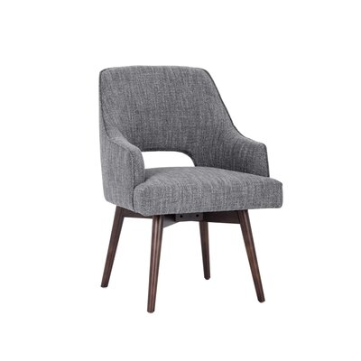 5west Newton Swivel Armchair Upholstery: Quarry