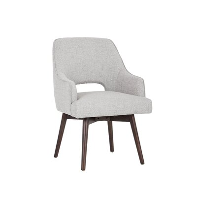 5west Newton Swivel Armchair Upholstery: Marble