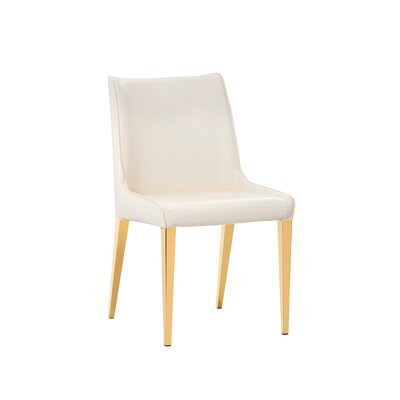 Ikon Lawrence Upholstered Dining Chair (Set of 2) Upholstery: Cream