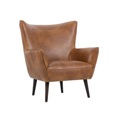 5west Luther Occasional Club Chair Upholstery: Tan