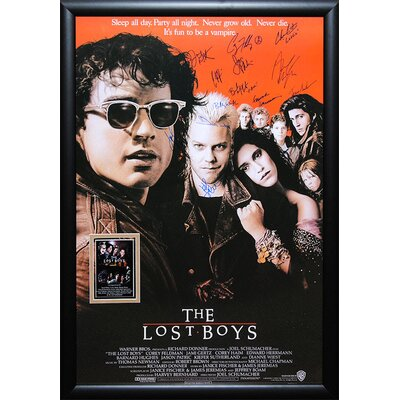 Lost Boys Framed Autographed Movie Poster LOSTBOYS