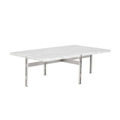 Ikon Coffee Table Table Top Color: White