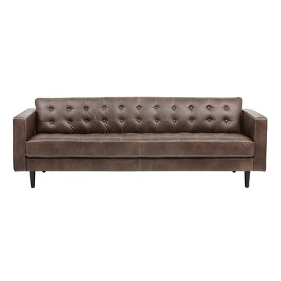 5West Sofa Upholstery: Brown