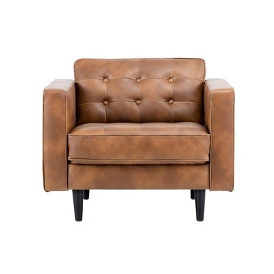 5west Donnie Club Chair Upholstery: Tan