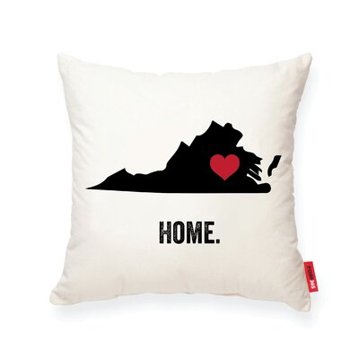Pettry Virginia Cotton Throw Pillow