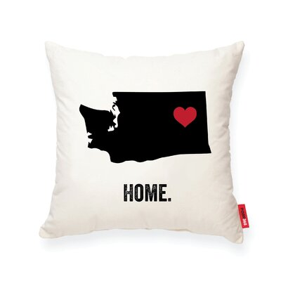 Pettry Washington Cotton Throw Pillow