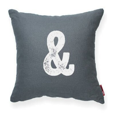 Domaine Throw Pilllow Pillow Cover Color: Gray
