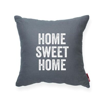 Pettis Home Sweet Home Throw Pillow