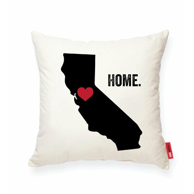 Pettry California Cotton Throw Pillow