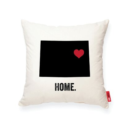 Pettry Colorado Cotton Throw Pillow