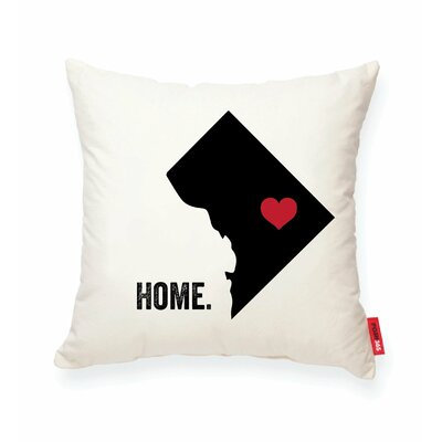 Pettry Washington DC Cotton Throw Pillow