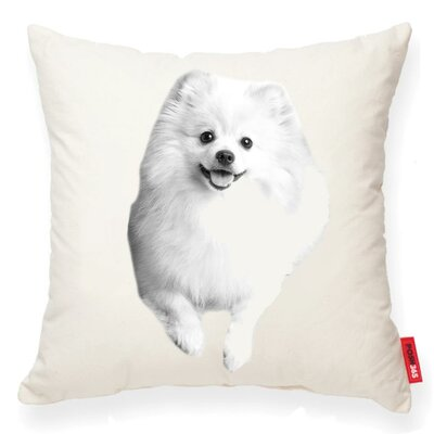 Gaddis Pomeranian Cotton Throw Pillow