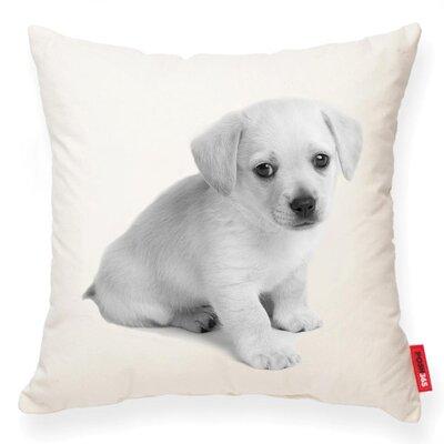 Gaddis Puppy Cotton Throw Pillow