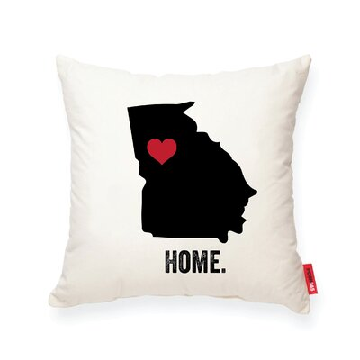 Pettry Georgia Cotton Throw Pillow