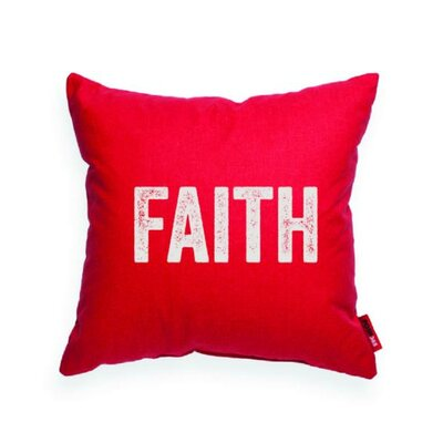 Pettis Faith Throw Pillow