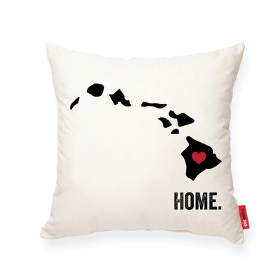 Pettry Hawaii Cotton Throw Pillow