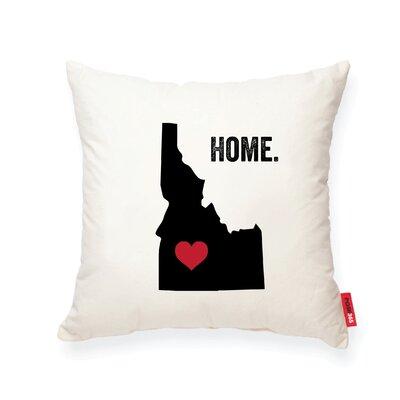Pettry Idaho Cotton Throw Pillow