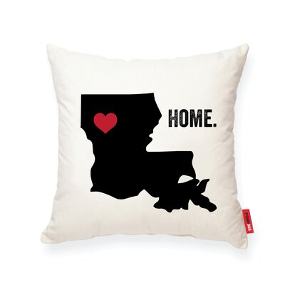 Pettry Louisiana Cotton Throw Pillow