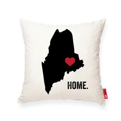 Pettry Maine Cotton Throw Pillow