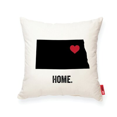 Pettry North�Dakota Cotton Throw Pillow