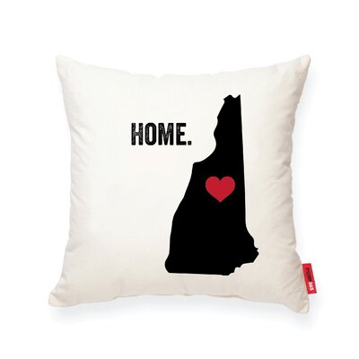 Pettry New Hampshire Cotton Throw Pillow