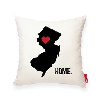 Pettry New Jersey Cotton Throw Pillow