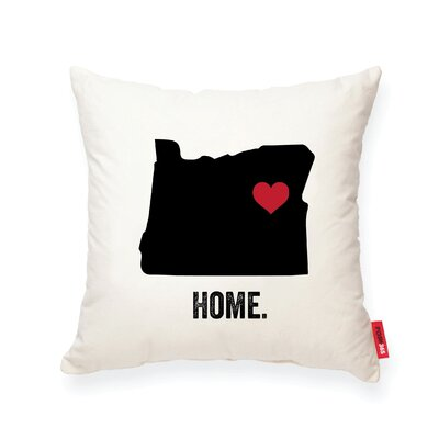 Pettry Oregon Cotton Throw Pillow