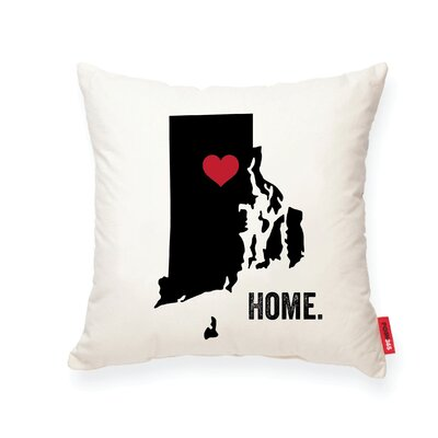 Pettry Rhode Island Cotton Throw Pillow