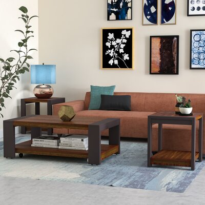 Hayley 3 Piece Coffee Table Set