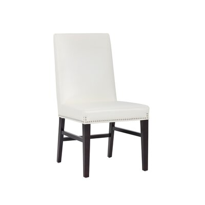5west Brooke Upholstered Dining Chair (Set of 2) Upholstery: Ivory