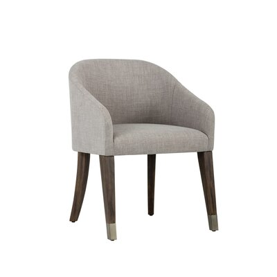 Zenn Nellie Barrel Chair Upholstery: Gray