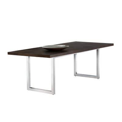 Falon Dining Table Top Color: Brown