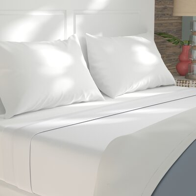 Sint 310 Thread Count 100% Cotton Fitted Sheet Size: Split King, Color: Sea Salt