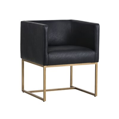 Irongate Kwan Armchair Upholstery: Black