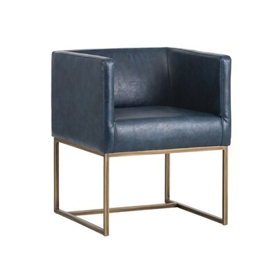 Irongate Kwan Armchair Upholstery: Blue