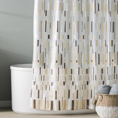 Dreyer EVA Bars Shower Curtain Color: Beige