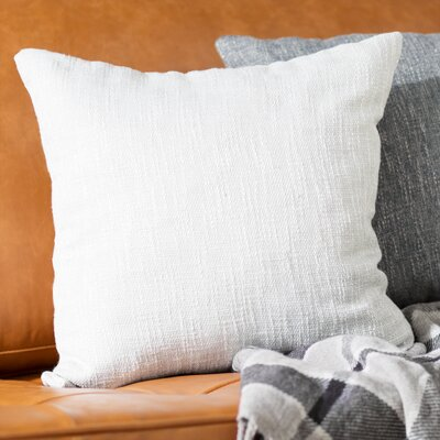San Jacinto Throw Pillow Color: Bone