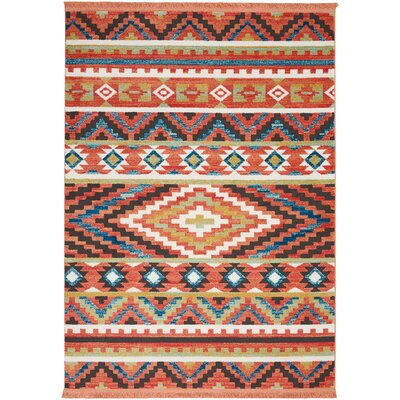 Carice Orange Area Rug Rug Size: Rectangle 53 x 76