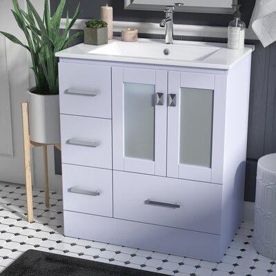 Lapoint Modern 30 Single Bathroom Vanity Set Base Finish: Gray
