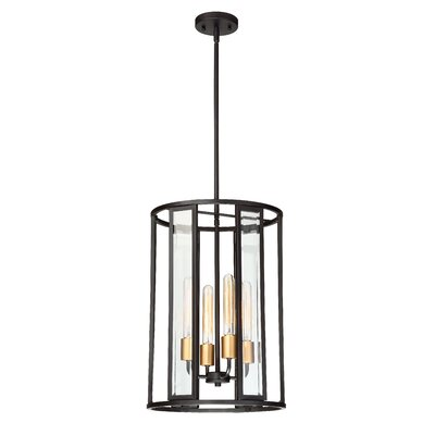 Wegener 4-Light Foyer Pendant
