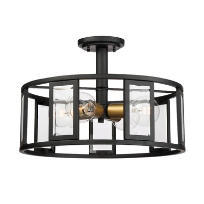 Wegener 4-Light Semi Flush Mount